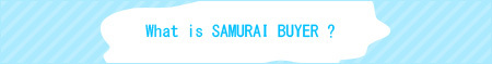What is SAMURAI BUYER?
